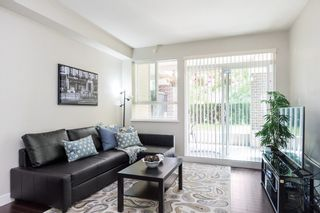 """Photo 2: 105 9655 KING GEORGE Boulevard in Surrey: Whalley Condo for sale in """"The Gruv"""" (North Surrey)  : MLS®# R2086741"""