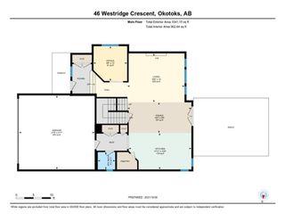 Photo 46: 46 Westridge Crescent: Okotoks Detached for sale : MLS®# A1153494