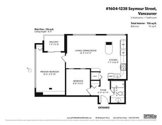 """Photo 20: 1604 1238 SEYMOUR Street in Vancouver: Downtown VW Condo for sale in """"The Space"""" (Vancouver West)  : MLS®# R2581460"""