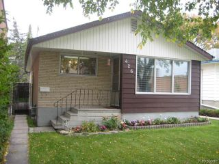 Photo 1: 426 Ravelston Avenue in WINNIPEG: Transcona Residential for sale (North East Winnipeg)  : MLS®# 1510590
