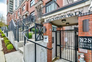 """Photo 1: 114 828 ROYAL Avenue in New Westminster: Downtown NW Townhouse for sale in """"BRICKSTONE WALK"""" : MLS®# R2161286"""