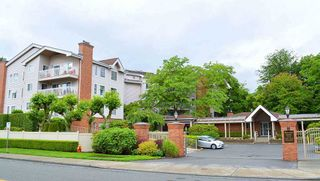 "Main Photo: 406 2963 BURLINGTON Drive in Coquitlam: North Coquitlam Condo for sale in ""BURLINGTON ESTATES"" : MLS®# R2483233"