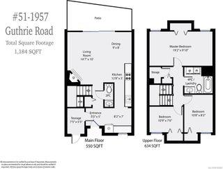 Photo 9: 51 1957 GUTHRIE ROAD in COMOX: CV Comox (Town of) Row/Townhouse for sale (Comox Valley)  : MLS®# 816089