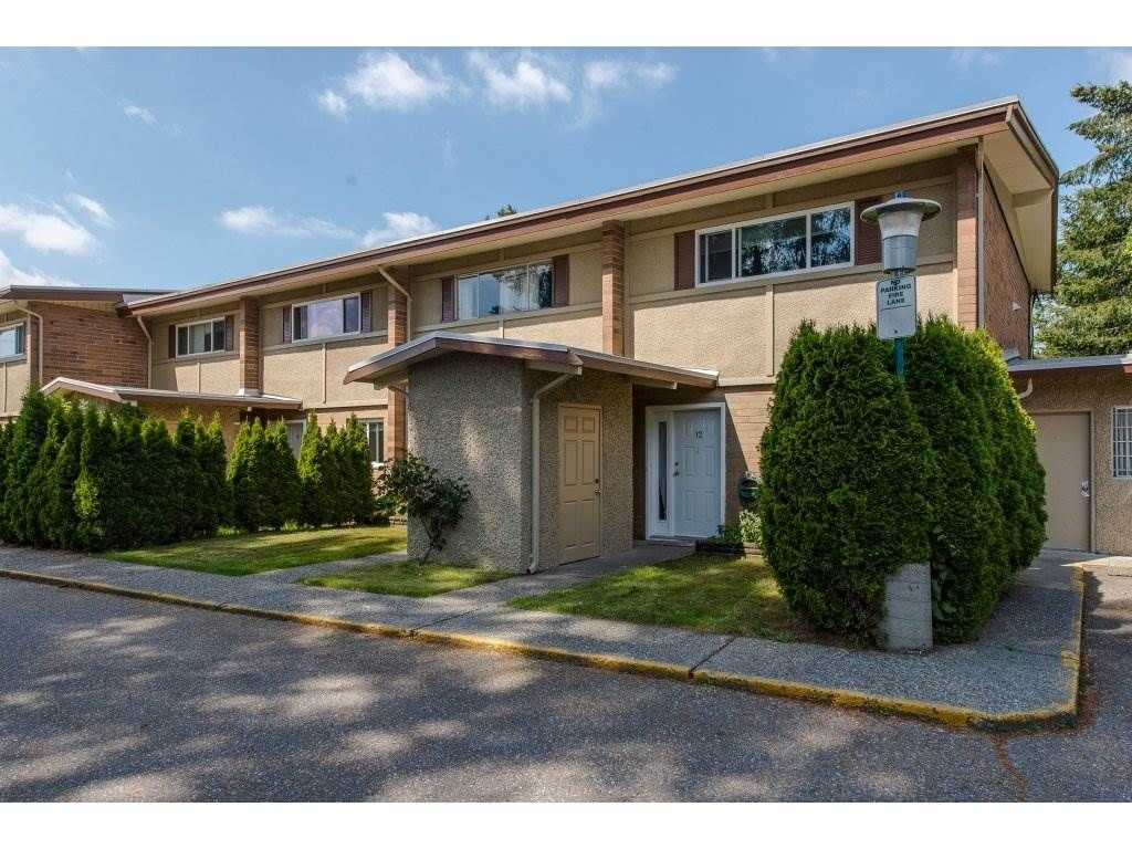 """Main Photo: 12 2048 MCCALLUM Road in Abbotsford: Central Abbotsford Townhouse for sale in """"Garden Court Estates"""" : MLS®# R2292137"""