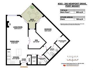"Photo 15: 303 285 NEWPORT Drive in Port Moody: North Shore Pt Moody Condo for sale in ""THE BELCARRA AT NEWPORT VILLAGE"" : MLS®# V1078428"