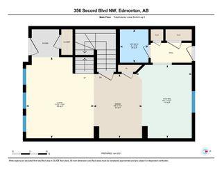 Photo 30: 356 SECORD Boulevard in Edmonton: Zone 58 House Half Duplex for sale : MLS®# E4250504