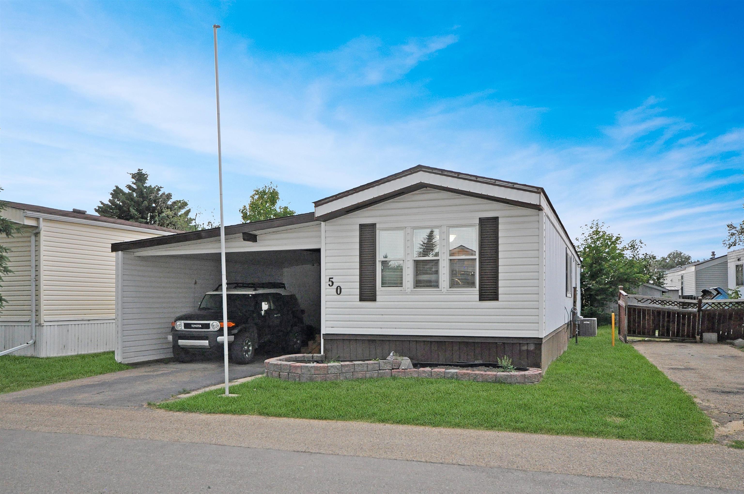 Main Photo: #50 10770 Winterburn Road in Edmonton: Zone 59 Mobile for sale : MLS®# E4263541