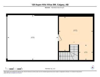 Photo 33: 120 ASPEN HILLS Villa SW in Calgary: Aspen Woods Row/Townhouse for sale : MLS®# C4242646