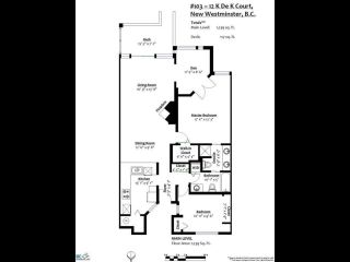 Photo 20: 103 12 K DE K Court in New Westminster: Quay Condo for sale : MLS®# R2419227