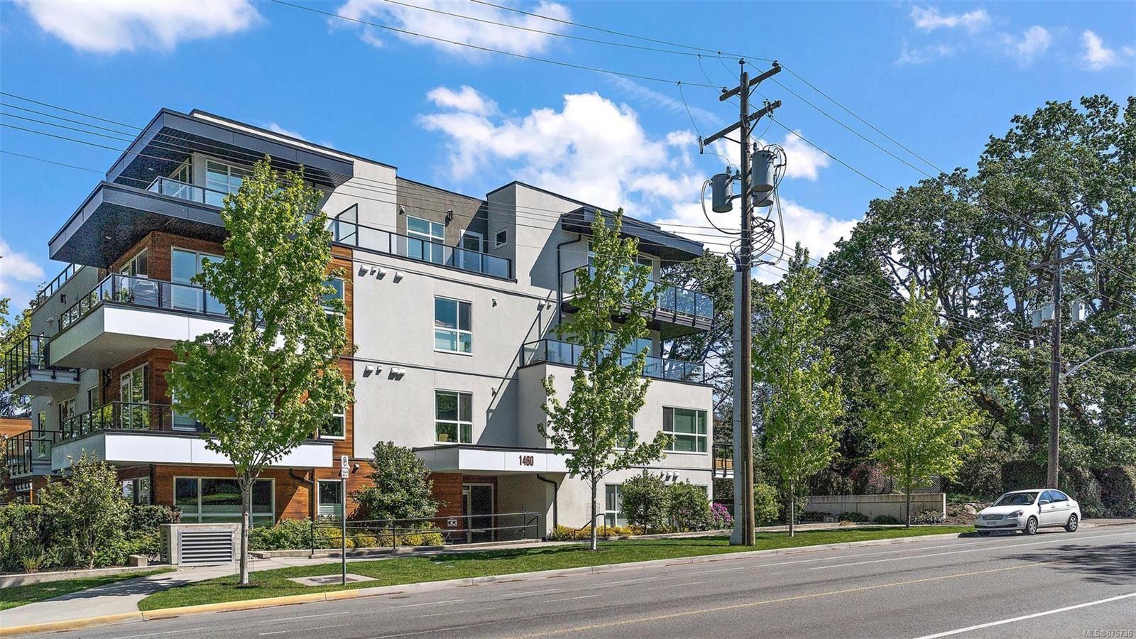 Main Photo: 205 1460 Pandora Ave in : Vi Fernwood Condo for sale (Victoria)  : MLS®# 875736