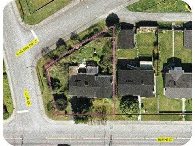 Main Photo: 4421 BURKE STREET in : Garden Village House for sale : MLS®# V976408