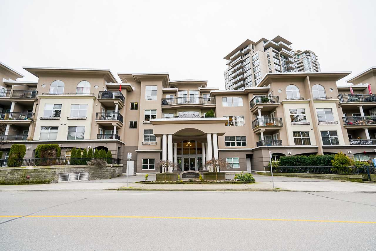 Main Photo: 310 1185 PACIFIC Street in Coquitlam: North Coquitlam Condo for sale : MLS®# R2541287