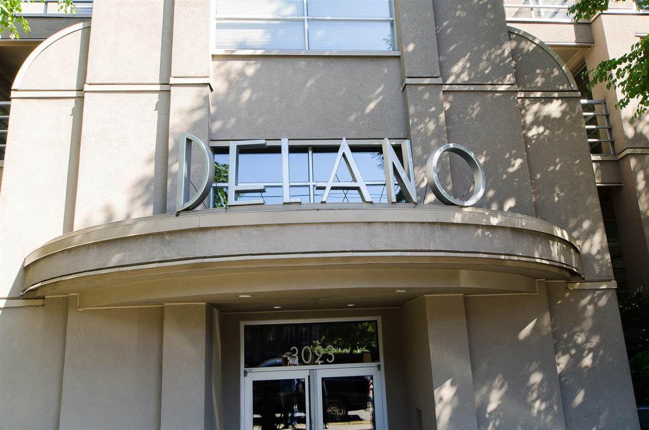 """Main Photo: 306 3023 W 4TH Avenue in Vancouver: Kitsilano Condo for sale in """"Delano"""" (Vancouver West)  : MLS®# R2107483"""