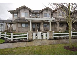 """Photo 2: 72 19250 65TH Avenue in Surrey: Clayton Townhouse for sale in """"SUNBERRY COURT"""" (Cloverdale)  : MLS®# F1302925"""