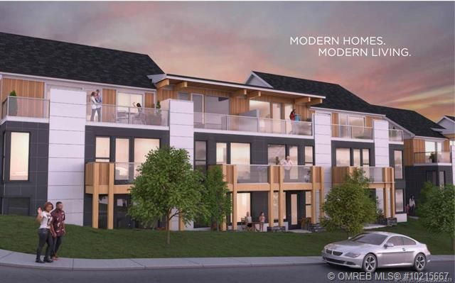 Main Photo: 55 665 Boynton Place in Kelowna: Glemore Townhouse for sale : MLS®# 10230103