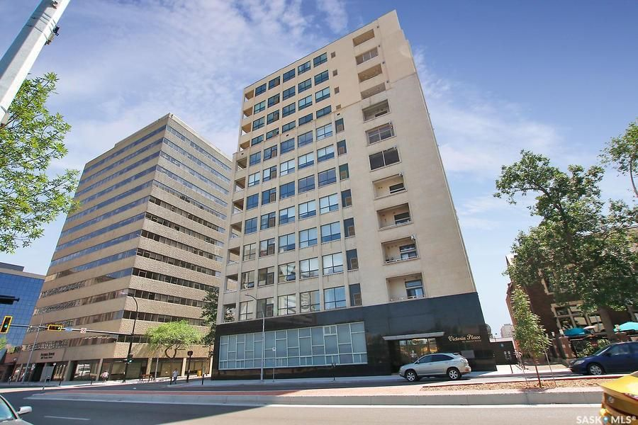 Main Photo: 1206 1901 Victoria Avenue in Regina: Downtown District Residential for sale : MLS®# SK863161