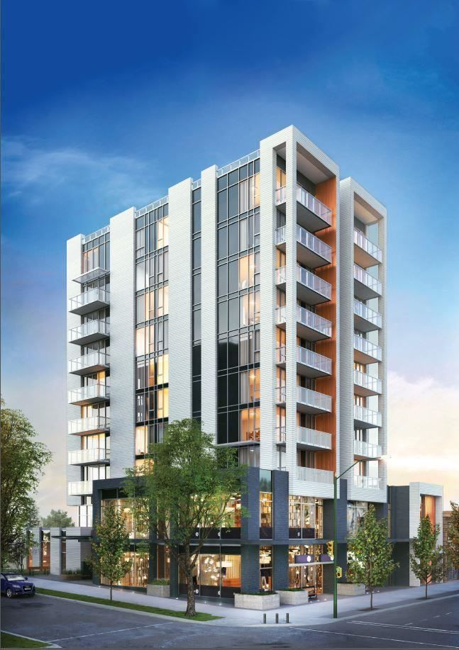 """Main Photo: 401 2501 SPRUCE Street in Vancouver: Fairview VW Condo for sale in """"DUET Broadway and Spruce"""" (Vancouver West)  : MLS®# R2577571"""