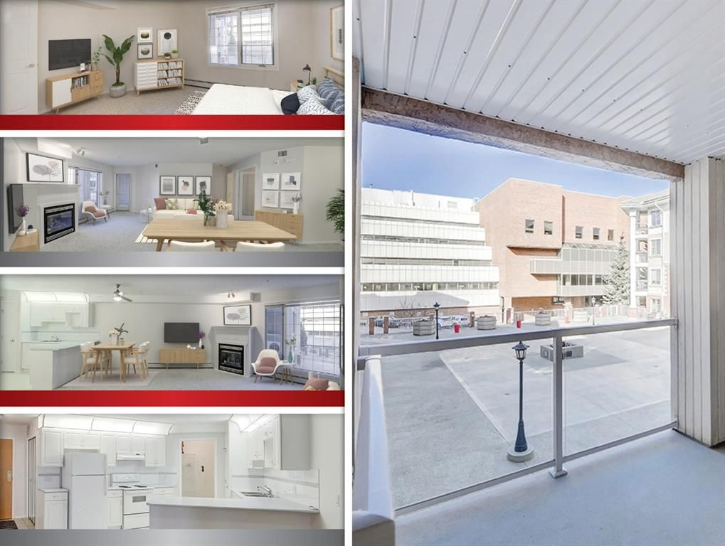 Main Photo: 212 8535 Bonaventure Drive SE in Calgary: Acadia Apartment for sale : MLS®# A1084416