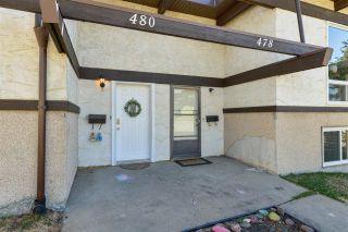 Photo 24: 480 Lee Ridge Road in Edmonton: Zone 29 Townhouse for sale : MLS®# E4242025