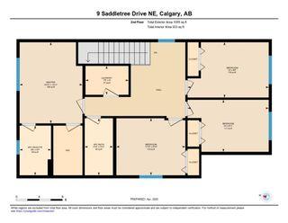 Photo 32: 9 Saddletree Drive NE in Calgary: Saddle Ridge Detached for sale : MLS®# A1088845