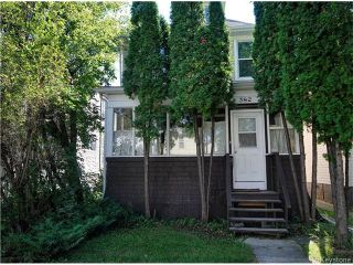 Photo 1: 382 Cathedral Avenue in WINNIPEG: North End Residential for sale (North West Winnipeg)  : MLS®# 1523080