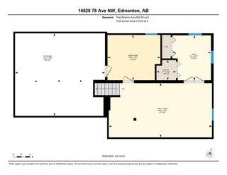 Photo 41: 16628 78 Avenue in Edmonton: Zone 22 House for sale : MLS®# E4265015