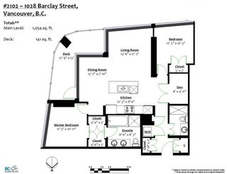 "Photo 14: 2102 1028 BARCLAY Street in Vancouver: West End VW Condo for sale in ""PATINA"" (Vancouver West)  : MLS®# R2235855"