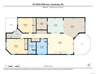 Photo 36: 101 2970 Cliffe Ave in : CV Courtenay City Condo for sale (Comox Valley)  : MLS®# 872763
