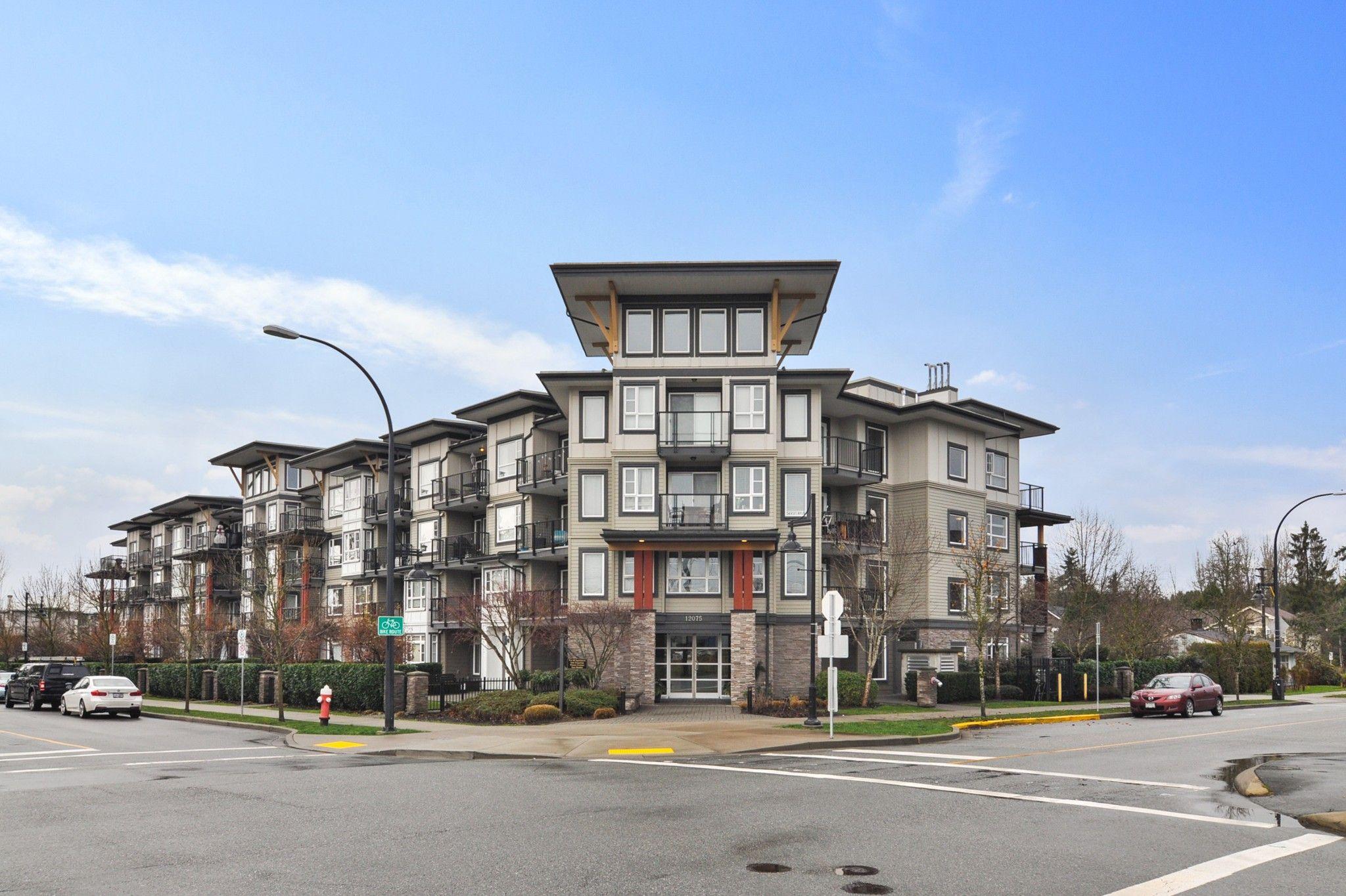 "Main Photo: 216 12075 EDGE Street in Maple Ridge: East Central Condo for sale in ""EDGE ON EDGE"" : MLS®# R2525269"