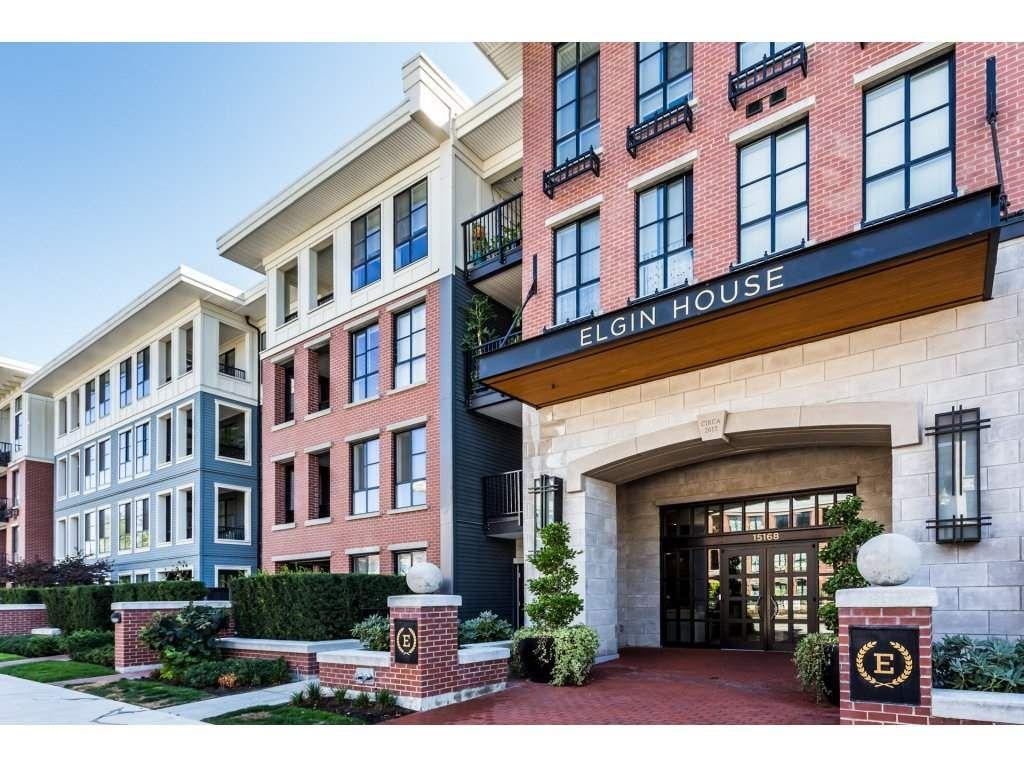 """Main Photo: 412 15168 33 Avenue in Surrey: Morgan Creek Condo for sale in """"Elgin House"""" (South Surrey White Rock)  : MLS®# R2300834"""