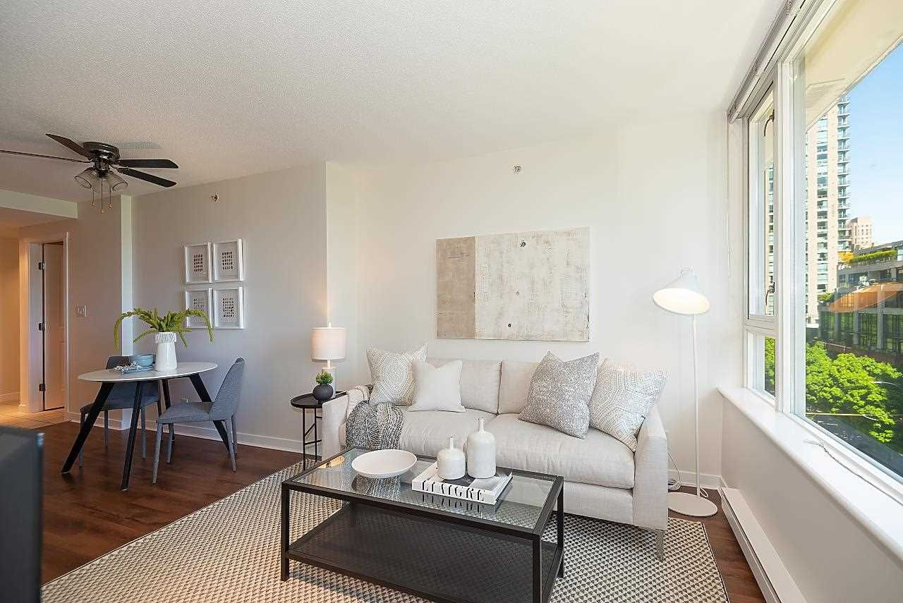 Main Photo: 606 1001 RICHARDS Street in Vancouver: Downtown VW Condo for sale (Vancouver West)  : MLS®# R2581492