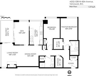 """Photo 25: 202 538 W 45TH Avenue in Vancouver: Oakridge VW Condo for sale in """"The Hemingway"""" (Vancouver West)  : MLS®# R2562655"""