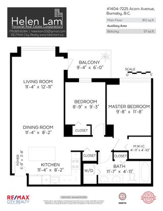 """Photo 22: 1404 7225 ACORN Avenue in Burnaby: Highgate Condo for sale in """"AXIS"""" (Burnaby South)  : MLS®# R2576554"""