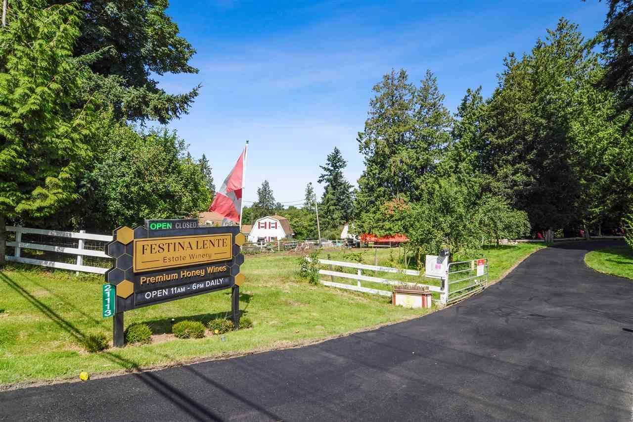 Main Photo: 21113 16 AVENUE in Langley: Agriculture for sale : MLS®# C8033266