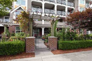 """Photo 2: #113 17712 57A Avenue in Surrey: Cloverdale BC Condo for sale in """"West on the Village Walk"""" (Cloverdale)  : MLS®# R2439030"""
