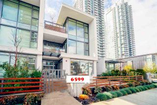 Photo 1: 6599 DUNBLANE Avenue in Burnaby: Metrotown Townhouse for sale (Burnaby South)  : MLS®# R2425512