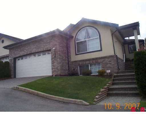 """Main Photo: 59 32777 CHILCOTIN Drive in Abbotsford: Central Abbotsford Townhouse for sale in """"CARTIER HEIGHTS"""" : MLS®# F2726125"""