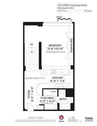 "Photo 20: 117 2556 E HASTINGS Street in Vancouver: Renfrew VE Condo for sale in ""L'ATELIER"" (Vancouver East)  : MLS®# R2119041"