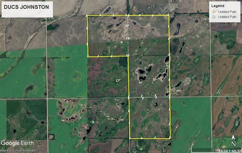 Google showing the perimeter fence lines