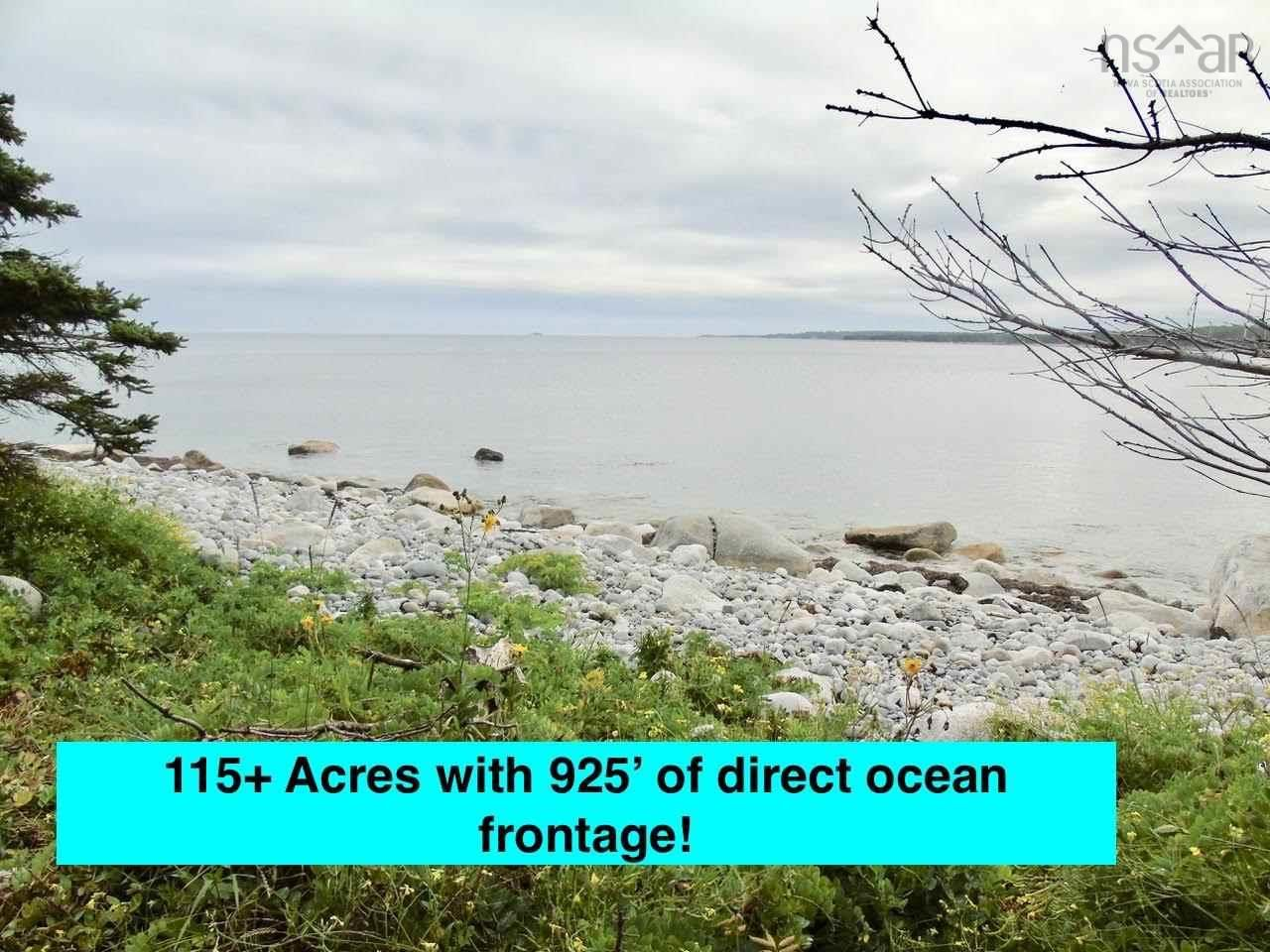Main Photo: Stewart's Point Road in East Port L'Hebert: 406-Queens County Vacant Land for sale (South Shore)  : MLS®# 202124155