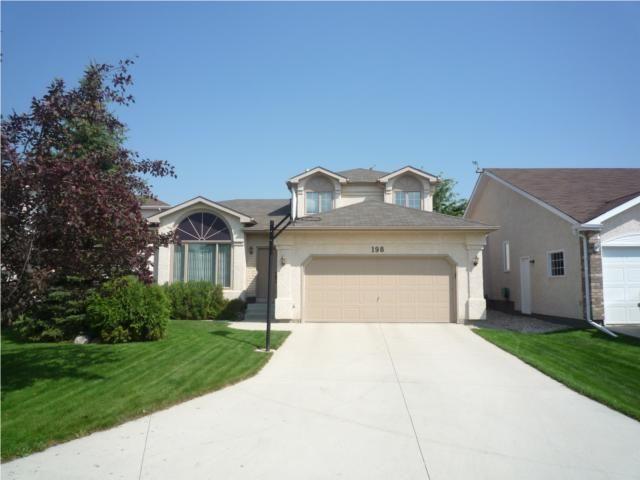 Main Photo: 198 Sheffield Road in WINNIPEG: Fort Garry / Whyte Ridge / St Norbert Residential for sale (South Winnipeg)  : MLS®# 1002583