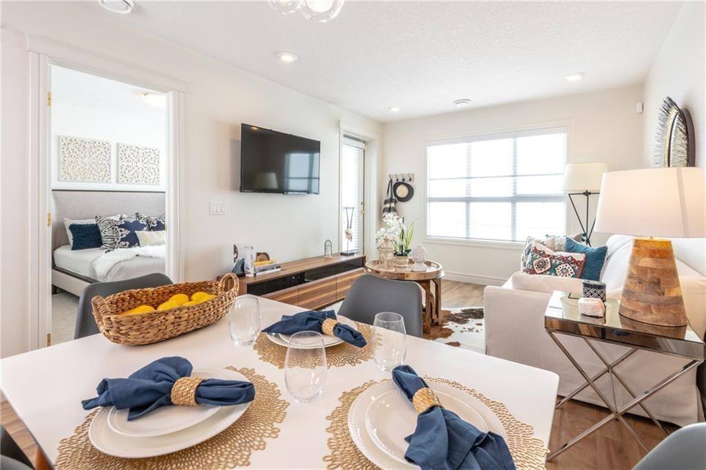 Photo 2: Photos: 409 19621 40 Street SE in Calgary: Seton Apartment for sale : MLS®# C4236548