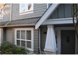 "Photo 1: 10 2688 MOUNTAIN Highway in North Vancouver: Westlynn Townhouse for sale in ""CRAFTSMAN ESTATES"" : MLS®# V1038517"