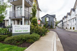 """Photo 39: 33 7665 209 Street in Langley: Willoughby Heights Townhouse for sale in """"ARCHSTONE YORKSON"""" : MLS®# R2307315"""