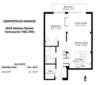 """Photo 26: 410 1655 NELSON Street in Vancouver: West End VW Condo for sale in """"Hampstead Manor"""" (Vancouver West)  : MLS®# R2513219"""