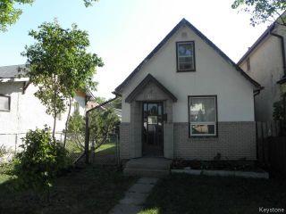 Photo 1: 324 Riverton Avenue in WINNIPEG: East Kildonan Residential for sale (North East Winnipeg)  : MLS®# 1319390