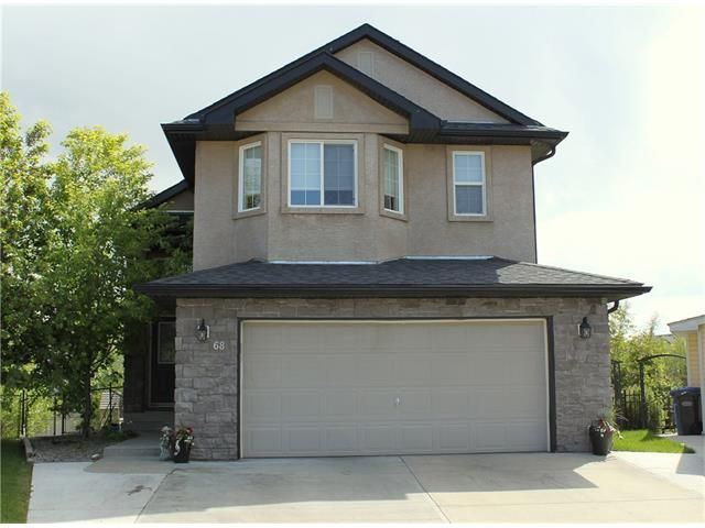 Main Photo: 68 CRYSTAL SHORES Place: Okotoks House for sale : MLS®# C4066673