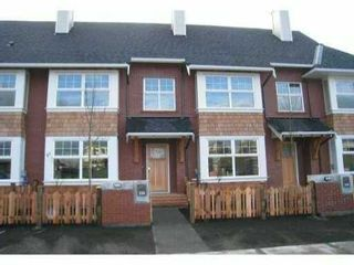 """Photo 1: 238 BROOKES Street in New Westminster: Queensborough Townhouse for sale in """"PORT ROYAL, MARMALADE SKY"""" : MLS®# V860869"""