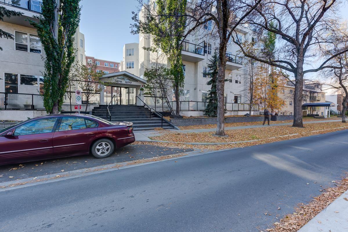 Main Photo: 311 10717 83 Avenue in Edmonton: Zone 15 Condo for sale : MLS®# E4266381
