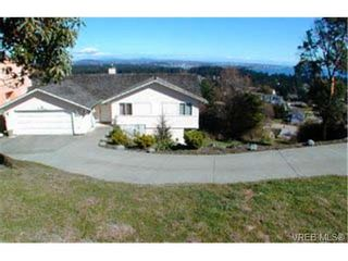 Photo 1: 684 Townview Terr in VICTORIA: Co Triangle House for sale (Colwood)  : MLS®# 281834